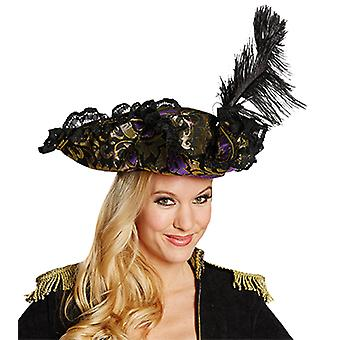 Noble pirate purple accessories Pirate hat pirate Halloween Carnival