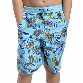 Drenge Tom frankerne drenge Safari Print sommer strand svømme Pool Shorts med Mesh Liner