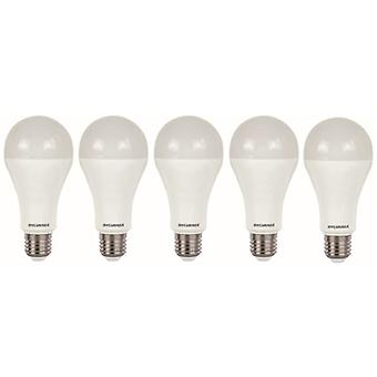 5 x Sylvania ToLEDo A66 Dimmable E27 V4 15W Homelight LED 1521lm [Energy Class A+]