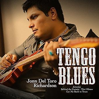 Richardson, John Del Toro - Tengo Blues [CD] USA import