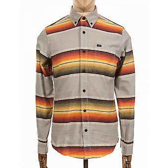 Deus Ex Machina Albie Stripe Shirt - Grey Multi