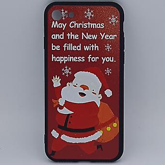 iPhone 7 pouch-Christmas-Santa Claus happiness