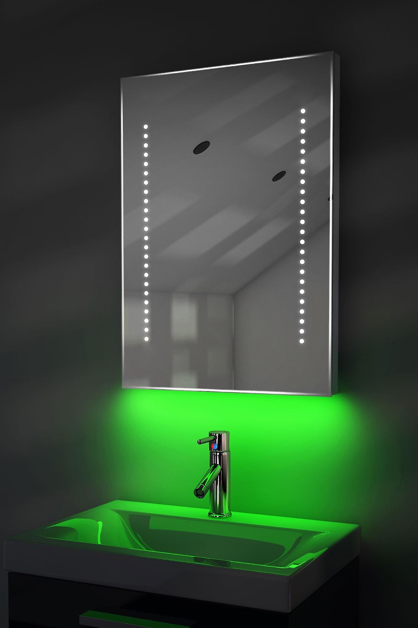 Auto Colour Change Rgb Shaver Mirror With Demister & Sensor K10Srgb