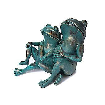 Frogs, fountain for the garden 30x27x20 cm