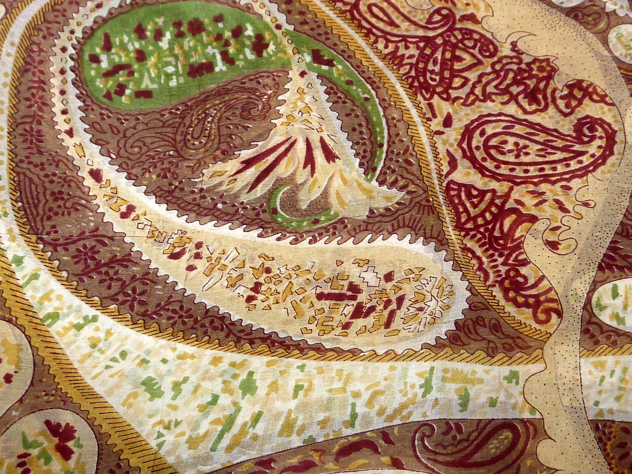 Mulberry Silk Classic Square Scarf Indore Caramel by Pashmina & Silk