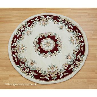 Royal Ivory Red Circle