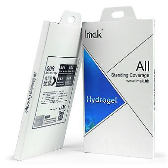 IMAK Screen Protector voor Nokia 8-Soft hydrogel 2-pack