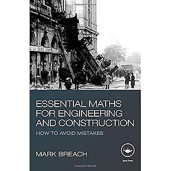 Essencial matemática para engenharia e construção: como evitar erros
