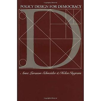 Policy Design for Democracy (Studies in Government and Public Policy)