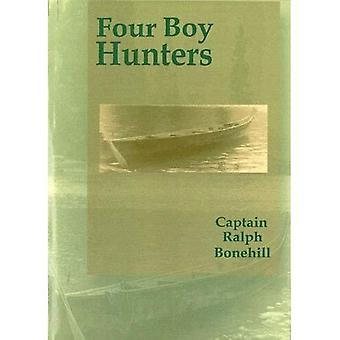 Vier jongen jagers