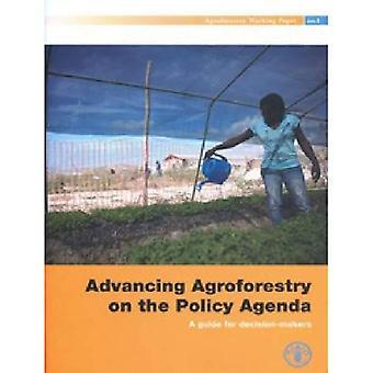 Avançando agroflorestais na Agenda política
