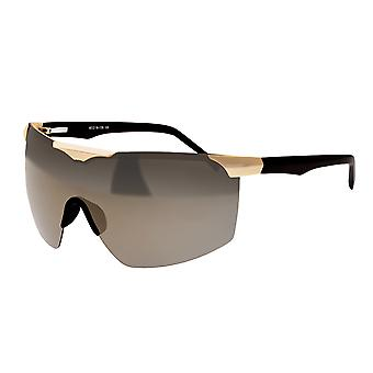 Sixty One Shore Polarized Sunglasses - Gold/Black