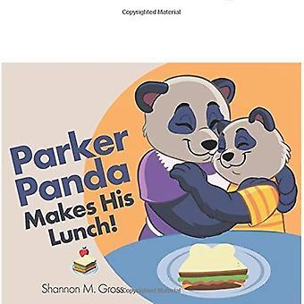 Panda de Parker fait son déjeuner!