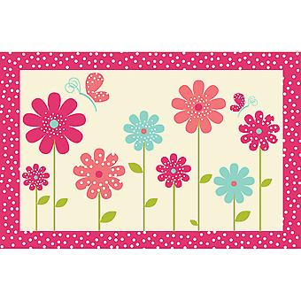 Country Club Kids Mat, Flowers
