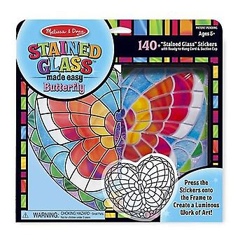 Melissa & Doug Stained Glass - Butterfly 5+