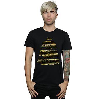 Star Wars Men's The Last Jedi Opening Crawl T-Shirt