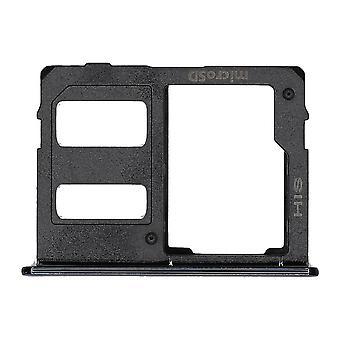 J4 Samsung + / J6 + czarny Dual SIM & Tacka karty pamięci | iParts4u