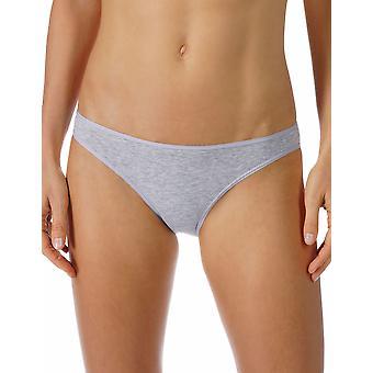 Mey 29500-620 Women's Cotton Pure Grey Melange Knickers Panty Full Brief