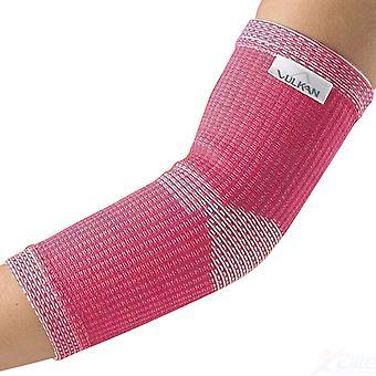 Vulkan codo de avanzada elástico para mujer mujer deportes lesiones apoyo rosa