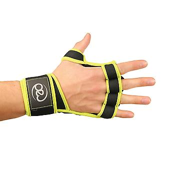 Fitness Mad Power Lift Gloves in Black - Small/Medium