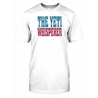 Zaklinacz dusz Yeti - spisek męskie T Shirt