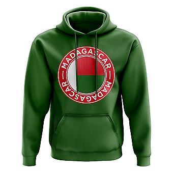 Madagascar Football Badge Hoodie (vert)