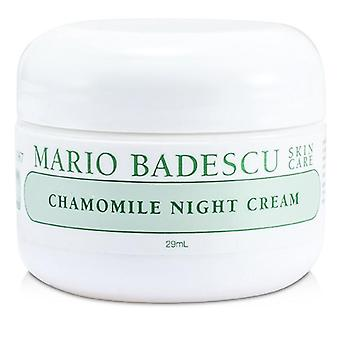 Chamomile Night Cream - For Combination/ Dry/ Sensitive Skin Types - 29ml/1oz