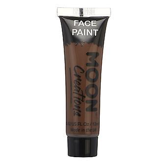 Gezicht & Body Paint by maan creaties - 12ml - Brown