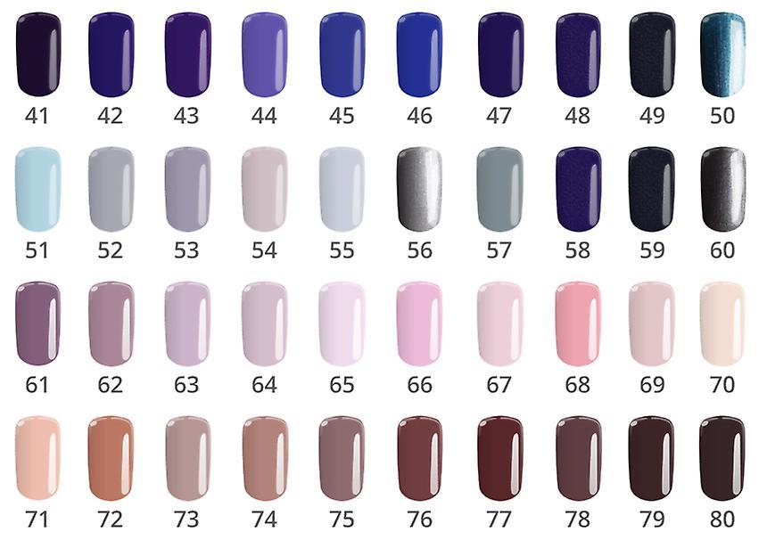 Gel polish-Flexy-* 72 4, 5G UV gel/LED