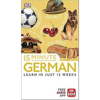 15 Minute German by DK - 9780241327364 Book