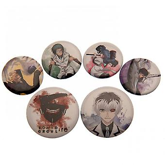 Tokyo Ghoul RE Button Badge Set