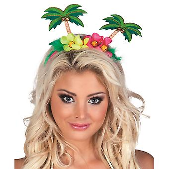 Palm Tree Headband Festival Accessory Tiara