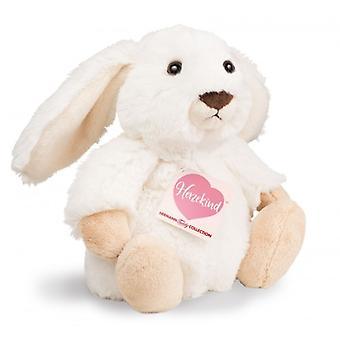 Hermann Teddy kosete kanin dukke hvit