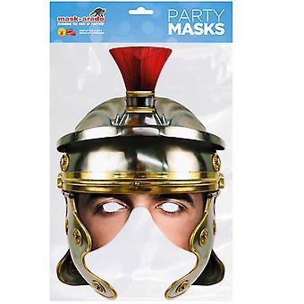 Roman Legion Helmet Historical Single 2D Card Party Half Fancy Dress Mask