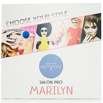 MoYou Salon Pro - Marilyn Nail Stamping Set