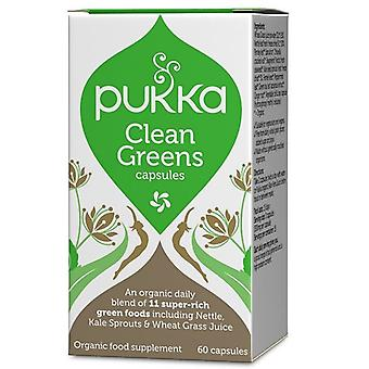 Pukka Clean Greens Capsules 60