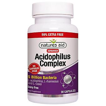 Nature's Aid Acidophilus Complex 5 Billion Capsules 90 (126426)