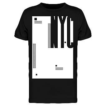 Résumé Nyc Graphic Tee Men's -Image par Shutterstock