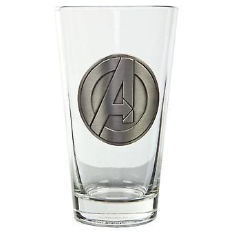 Avengers Un symbole Clear Pint Verre