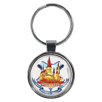 Harry Potter Hogwarts Cartoon Keychain