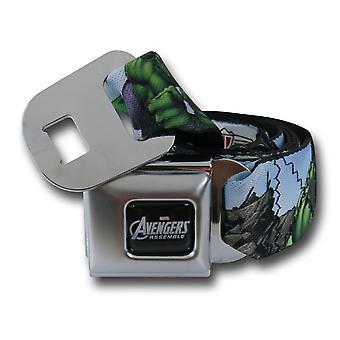 Hulk Avengers säkerhetsbälte bälte