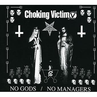 Choking Victim - No Gods No Managers [CD] USA import