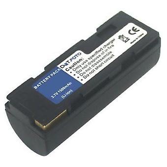 Dot.Foto Toshiba PDR-BT1, PDR-BT2 erstatningsbatteriet - 3,7 v / 1500mAh