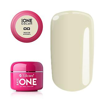 Base one-Color-White Angel 5g UV Gel