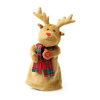 Christmas Shop Cute Dancing Singing Rudolph