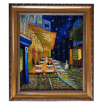 Après Vincent van Gogh, Buvez Kafe ce soir