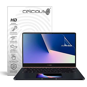 Celicious Vivid Invisible Glossy HD Screen Protector Film Compatible with Asus ZenBook Pro 14 UX480FD [Pack of 2]