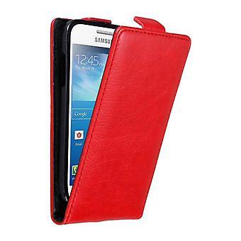 Cadorabo tilfældet for Samsung Galaxy S4 MINI Case Cover-telefon tilfældet i flip design med magnetisk lukning-sag Cover sag sag case sag bog folde stil