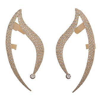 Earrings Star Trek Ear Cuffs w/Glass Stones - Licensed - eg6r8ksta