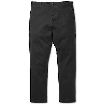 Etnies Monitor E-Flex Tapered Chino Trousers in Black
